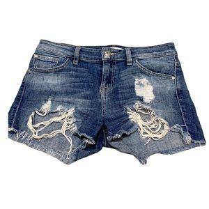 Guess Los Angeles Denim Jean Shorts Women's Sz 25